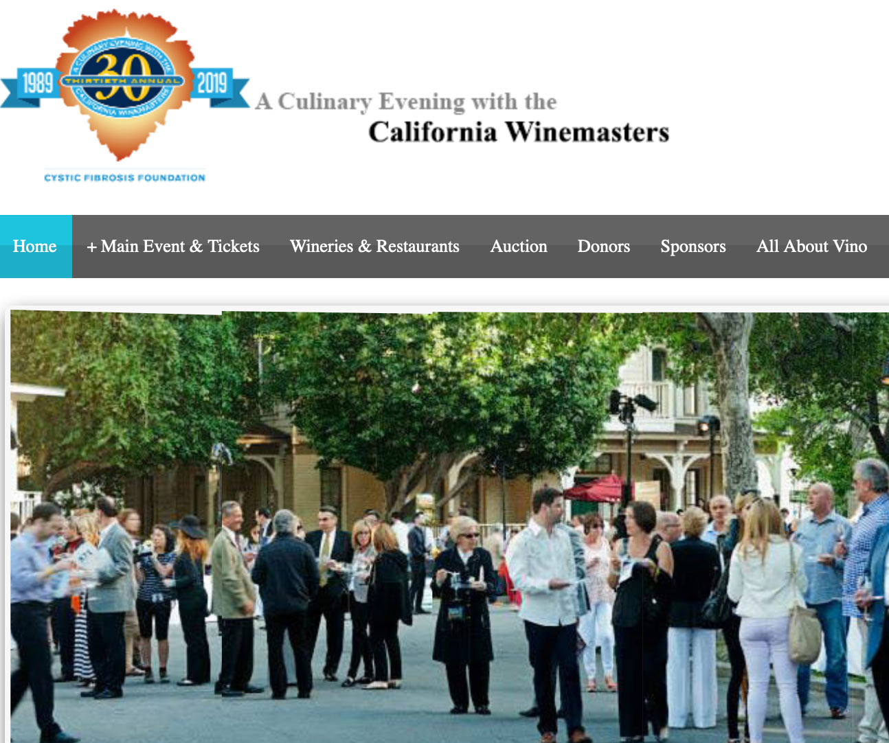 CA Winemasters Event Gift Bag